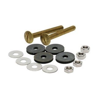 Fluidmaster 6101  Tank to Bowl Bolts Set of 2 with Washers and Nuts