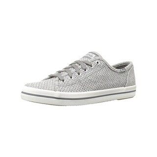 Keds Womens Kickstart Casual Shoes Wool Blend Glitter - 7.5 medium (b,m)