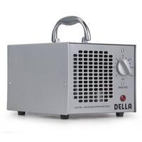 Della Commercial Style Air Ozone Generator 3,500mg Purifier Industrial O3 Deodorizer Sterilizer, Silver