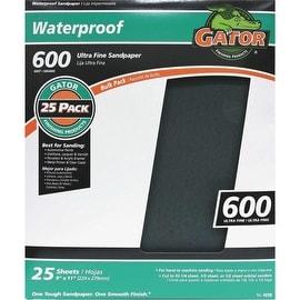 Gator 600B Wet/Dry Sandpaper