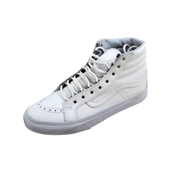 7bfeceb0aa Shop Vans Men s SK8 Hi Slim Antique Silver Rivet VN00018IJV0 - Free ...