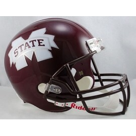 Mississippi State Bulldogs Riddell Full Size Deluxe Replica Football Helmet