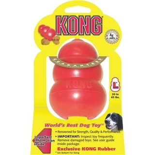 Kong Company Large Red Kong Dog Toy T1M Unit: EACH