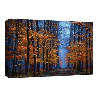 "PTM Images 9-148255  PTM Canvas Collection 8"" x 10"" - ""The Path of Midas"" Giclee Forests Art Print on Canvas"
