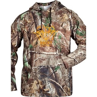 Rocky Sweatshirt Mens Outerwear Athletic Mobility Logo Realtree 600383