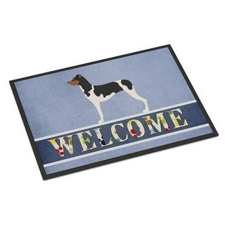 Carolines Treasures BB8315JMAT Brazilian Terrier Welcome Indoor or Outdoor Mat - 24 x 36 in.