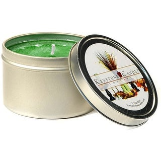 1 Pc Tin Candles Pine Scented Tins 4 oz 2.5 in. diameter x 1.75 in. tall