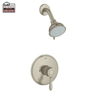 Grohe 35 046 Fairborn Shower Trim Package With Multi Function Shower Head  And Dream Spray