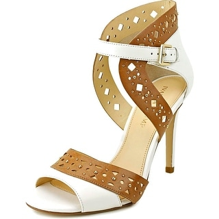 Ivanka Trump Dapoli Open Toe Leather Sandals