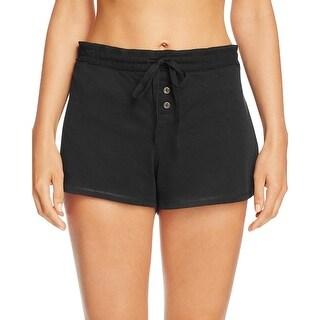 Naked Womens Pajama Shorts Pima Cotton Lounge - S