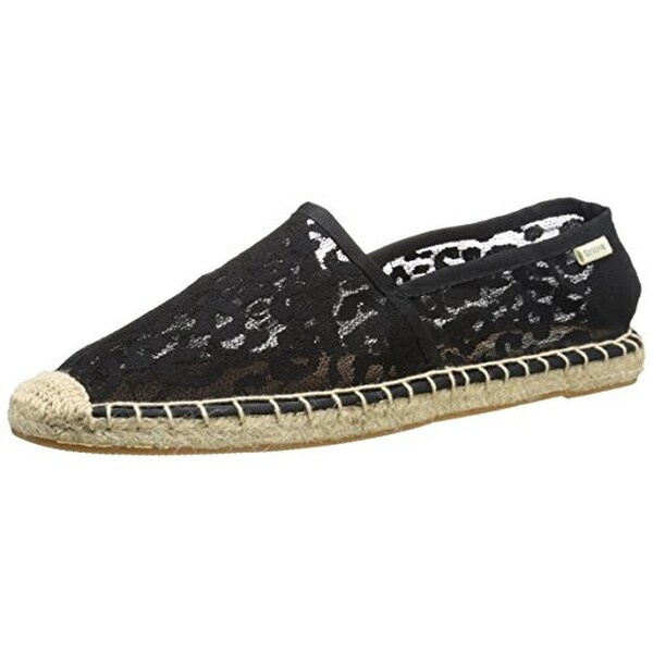 Groove Womens Fiona Espadrilles Lace Slip On