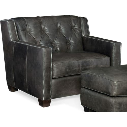 High Quality Hooker Furniture SS373 01 096 43 Inch Wide Accent Chair From The Trellis  Collect   Free Shipping Today   Overstock.com   25522726