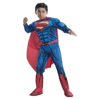 Boys DC Comic Deluxe Superman Costume