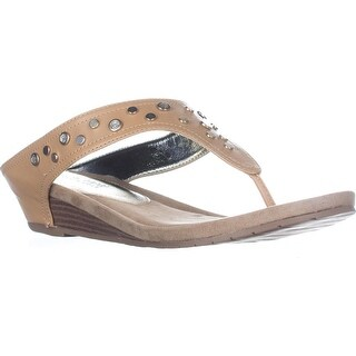 Kenneth Cole REACTION Great Leap 4 Wedge Sandals, Natural