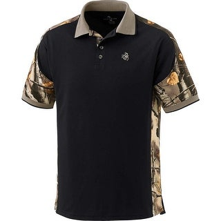 Legendary Whitetails Men's Big Game Camo Pro Hunter Performance Polo