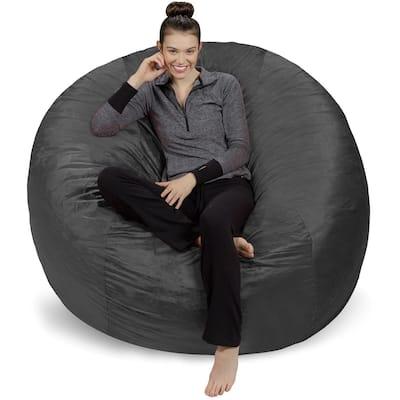 6-foot Bean Bag Chair Large Memory Foam Bean Bag