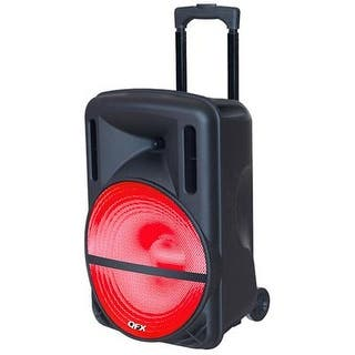 "Qfx - Pbx-61126 - 12"" Battery Pa Speaker