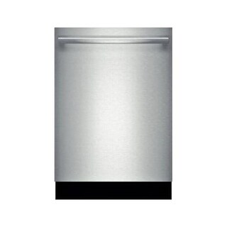 Bosch SHX5AVL 24 Inch Wide 14 Cu. Ft. Energy Star Rated Built-In Dishwasher with 24/7 Overflow Protection System