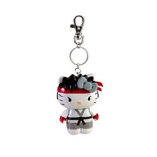 Street Fighter X Sanrio Mobile Key Chain Ryu - Multi