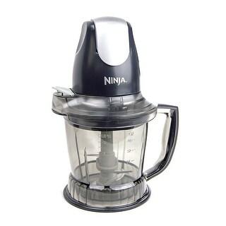 Ninja QB700 Food Processor Black (Certified Refurbished)