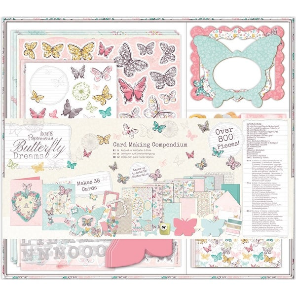 Papermania Butterfly Dreams Compendium-Card Making
