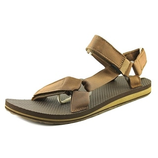 Teva M Original Men Open-Toe Synthetic Brown Sport Sandal
