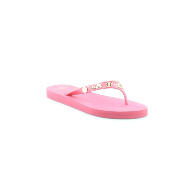 Coach Alessa Charms Women's Sandals & Flip Flops Dahlia - 5