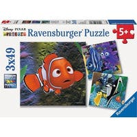 Finding Nemo In the Aquarium 49 Piece Puzzle 3-Pack, More Puzzles by