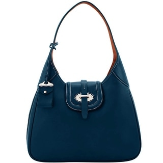 Dooney & Bourke Florentine Toscana Large Hobo (Introduced by Dooney & Bourke at $468 in Sep 2016) - Navy