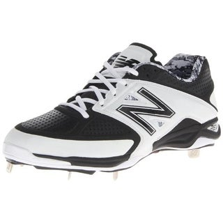 New Balance Mens Faux Leather Perforated Cleats