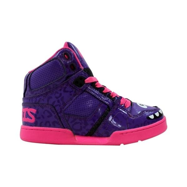 watch 892e1 9ec4b Osiris NYC 83 Slim Black Purple 41922196 Pre-School Size 3Y