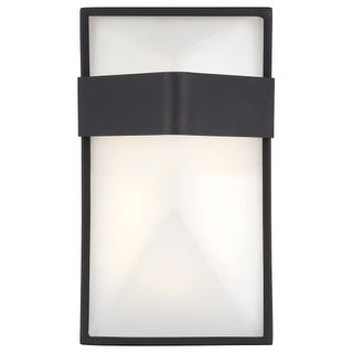 Kovacs P1236-066-L LED Outdoor ADA Wall Sconce from the Wedge Collection