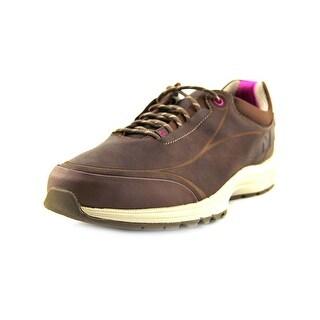 New Balance WW999 Round Toe Leather Walking Shoe