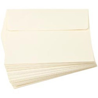 """Ivory - Heavyweight A7 Envelopes (5.25""""X7.25"""") 50/Pkg"""