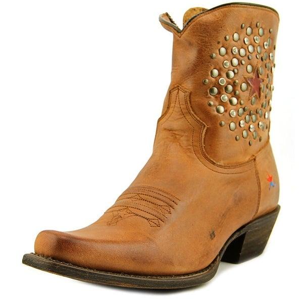 Redneck Riviera Cherry Bomb Short Women Aged Cognac Western Boots