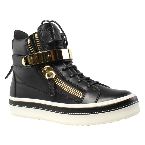 1bee359c1f5ef Shop Giuseppe Zanotti Womens Nappa Neropaco Black Fashion Shoes Size ...