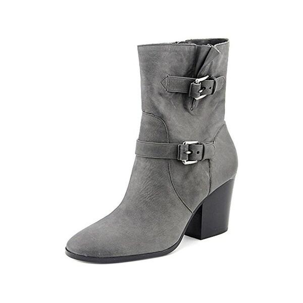 MICHAEL Michael Kors Womens Ashton Casual Boots Booties Mid Calf - 9 medium (b,m)