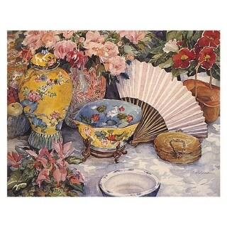 ''Oriental Splendor'' by Joy Waldman Mini-Prints Art Print (11 x 14 in.)