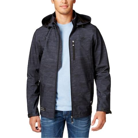 Point Zero Mens Weatherproof Bonded Coat, black, Large