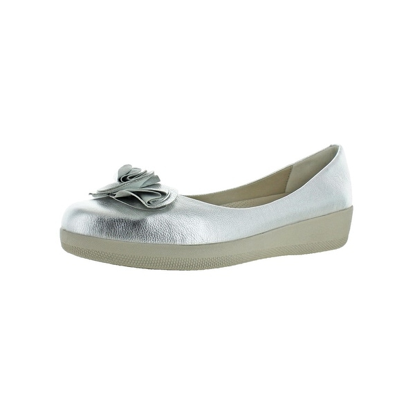 4614b570653410 Shop Fitflop Womens Florrie Superballerina Ballet Flats Slip On - On ...