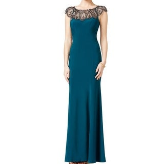 Xscape NEW Emerald Green Women's Size 12 Maxi Embellished Dress