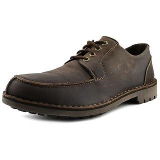 Sebago Metcalf Algonquin Men Moc Toe Leather Brown Oxford