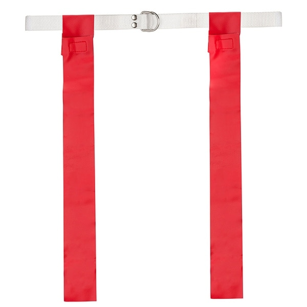 Flag Football Set 12 Red One Size