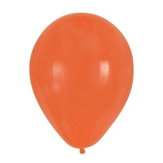 Club Pack of 180 Sunkissed Orange Latex Party Balloons