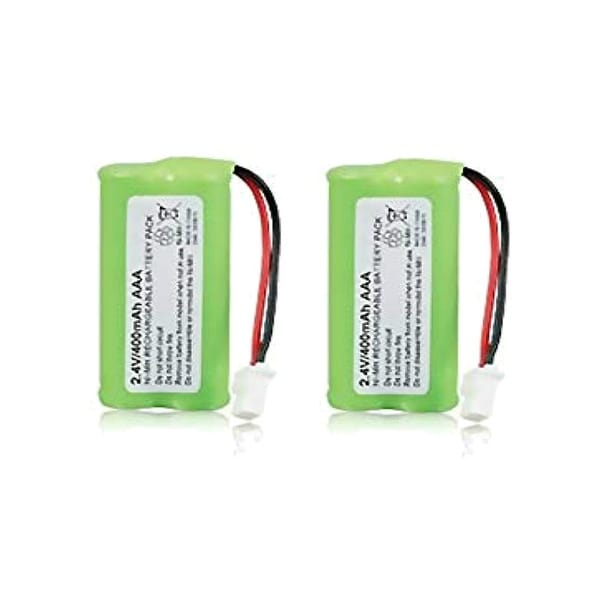 Replacement GE/RCA CPH-515J Battery for 30522EE1 / 30524EE4 / 30524EE3 Phone Models (2 Pack)