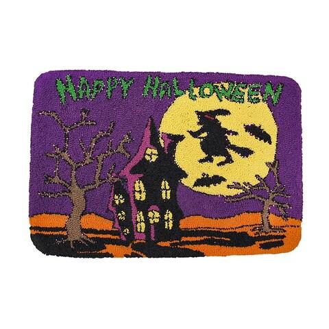 Happy Halloween Light Up Indoor Mat