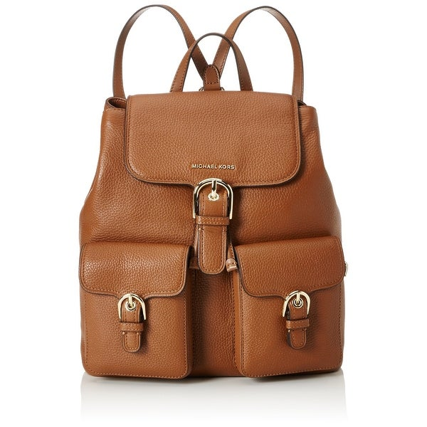 Michael Kors New Cooper Brown Backpack Style Leather Handbag Purse