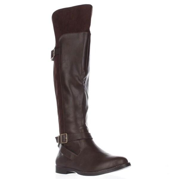 Bella Vita Romy II Tall Winter Boots, Brown/Brown Suede