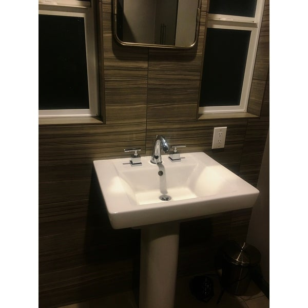 Shop Claremont Widespread Chrome Bathroom Faucet - Free Shipping ...