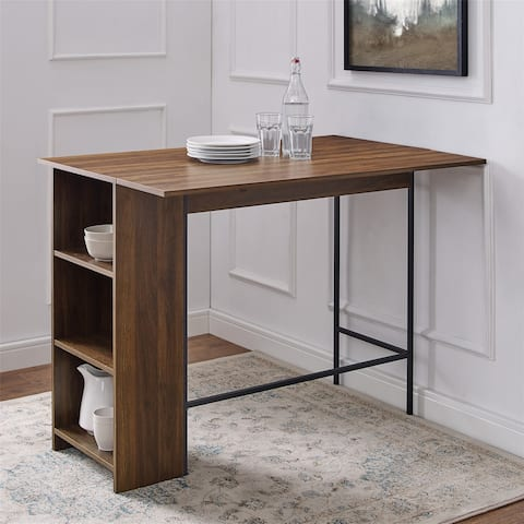 Carbon Loft 48-inch Drop Leaf Storage Counter Table